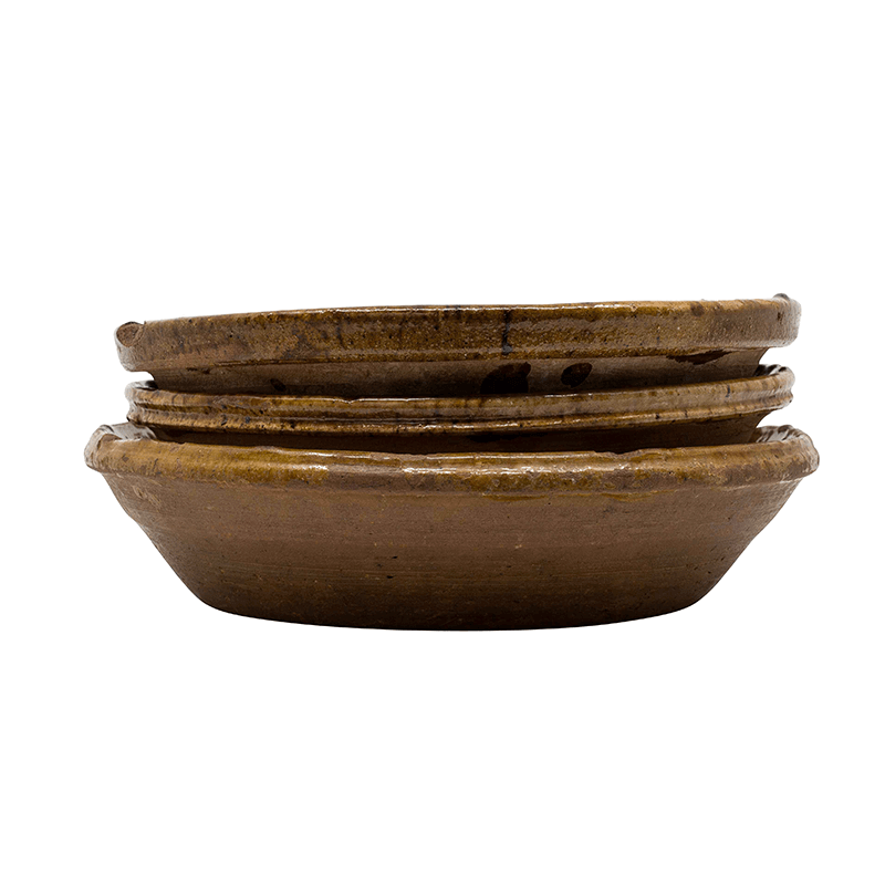 Tamegrout Terracotta Bowls, Set of 4
