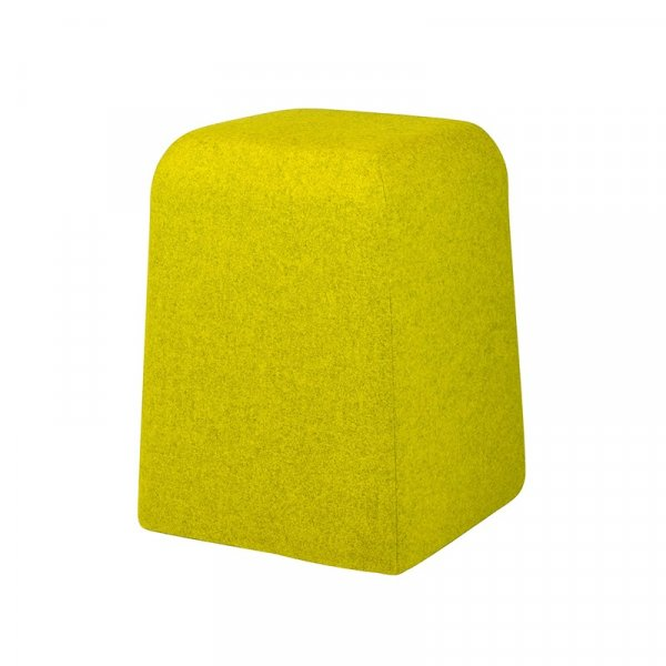 Modern Yellow Lounge Stool