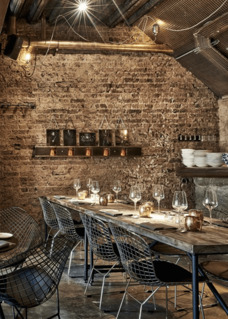 You've been served: The 108 Garage in Nothing Hill, London