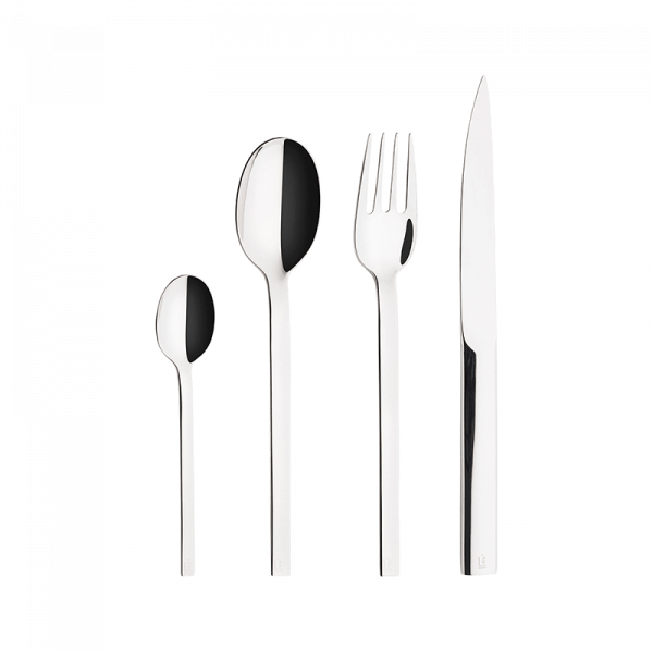 Stark Stainless Steel Cutlery, Set of 24 Pieces