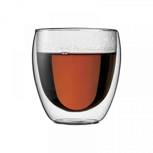 Bodum Pavina Double Walled Glass Espresso Cups, Set of 2