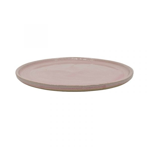 Large Pink Terracotta Plates, Set of 4 or 6