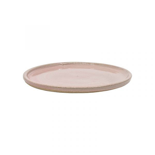 Small Pink Terracotta Plates, Set of 4 or 6
