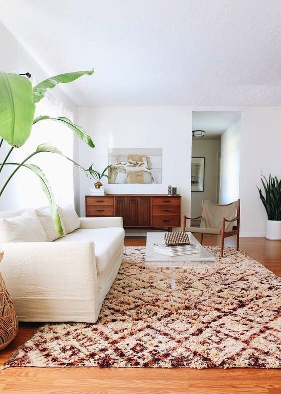 How patterned rugs can change your entire room?