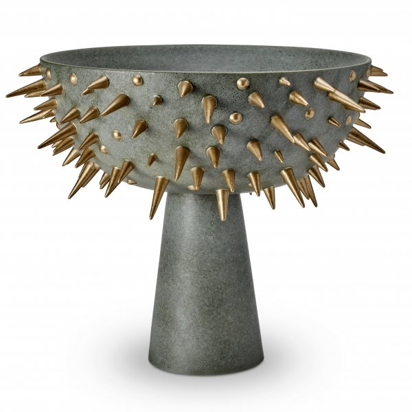 Celestial Extra Large Bowl on Stand