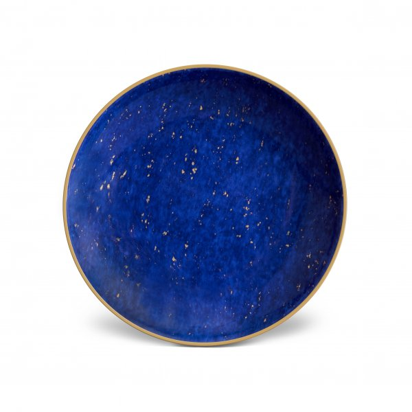 Small Lapis and Gold Dish