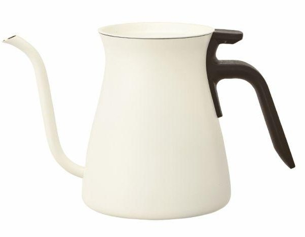 Kinto White Pour Over Kettle 900ml