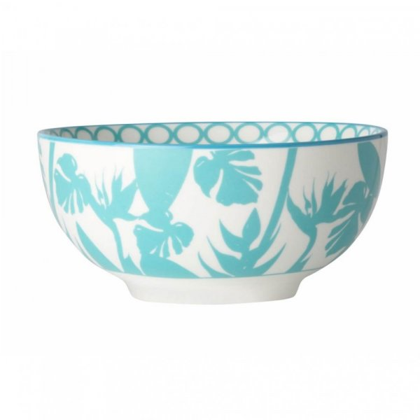 Private: Paradise Media Silhouette Blue Cup, Set of 4