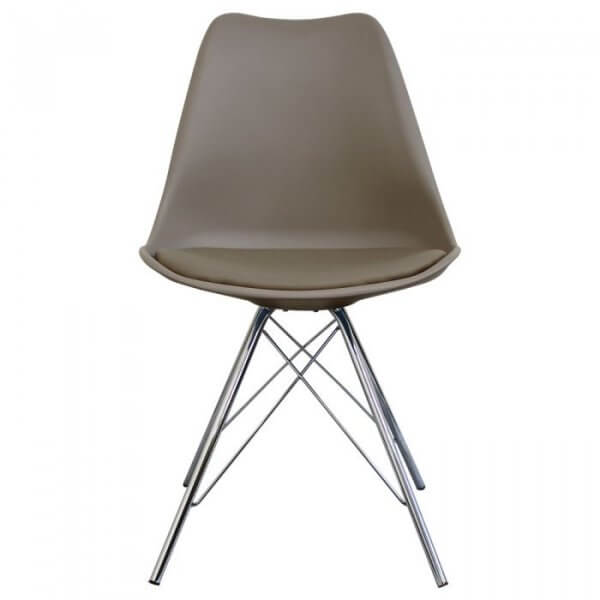 Private: I-DSR Side Chair in Chrome Legs