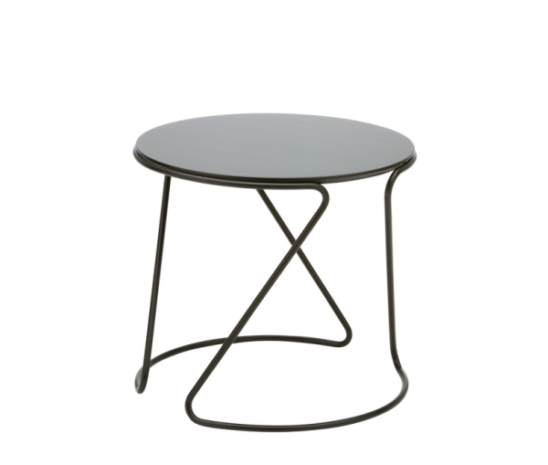 Round Steel Side and Nesting Table S 18