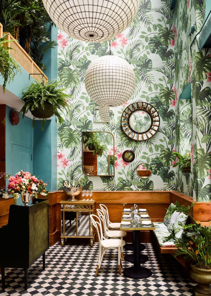 Tropical hotels and restaurants to brighten up your winter