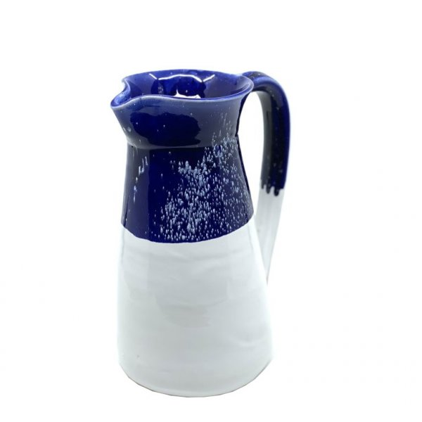 Carolina Irving and Daughters Antique Large Jug Blue and White