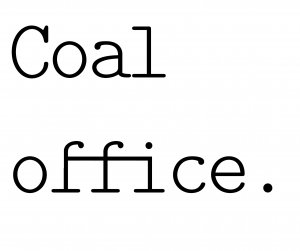 Coal Office by Tom Dixon