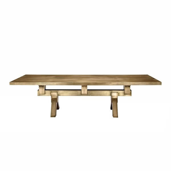 Mass Dining Table Brass
