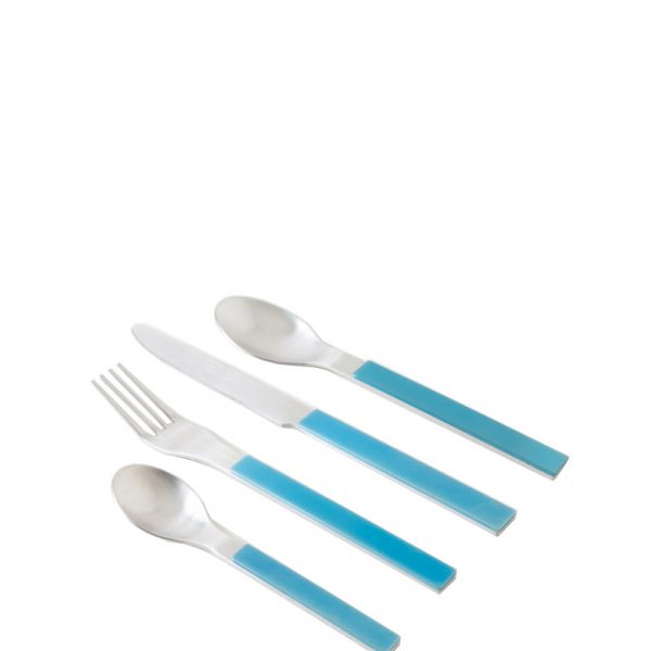 Blue Cutlery, Set of 4