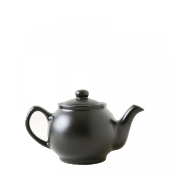 Black Ceramic Teapot (2 Cups)