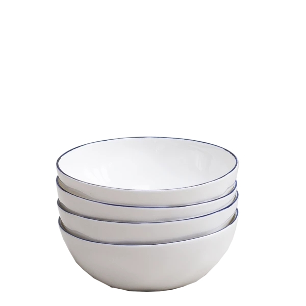 Cobalt Cereal Bowls, Set of 6