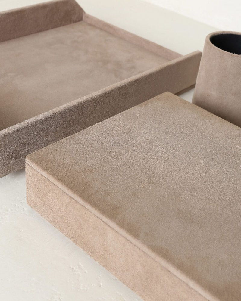 Suede Letterbox