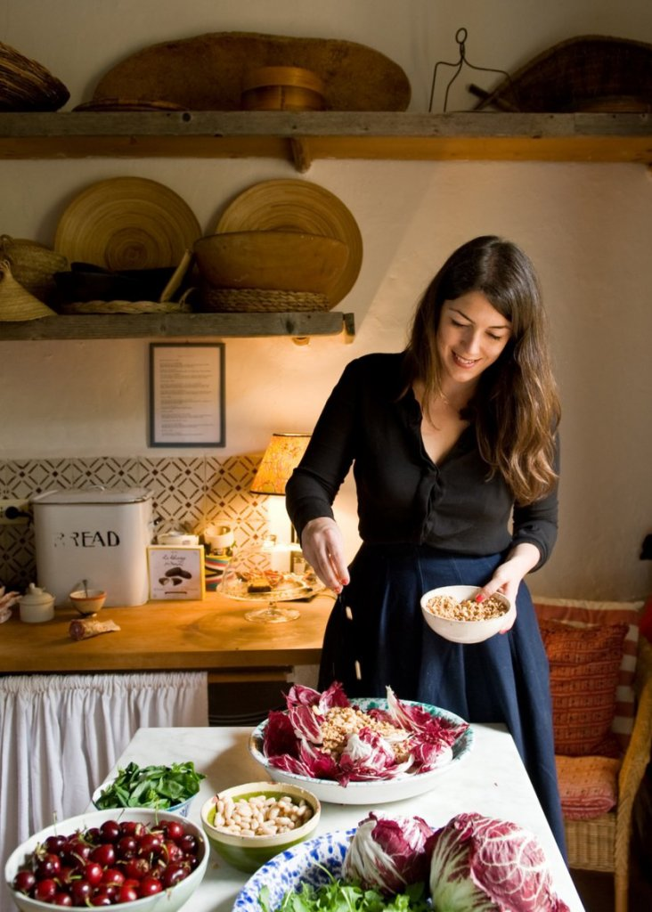Meet Amber Guinness, Chef and co-founder of Arniano painting school, Tuscany