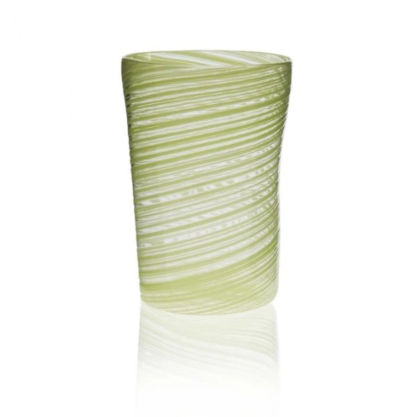 Green Murano Glass