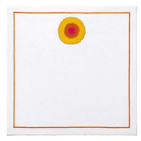 Helios on a Canvas Napkin