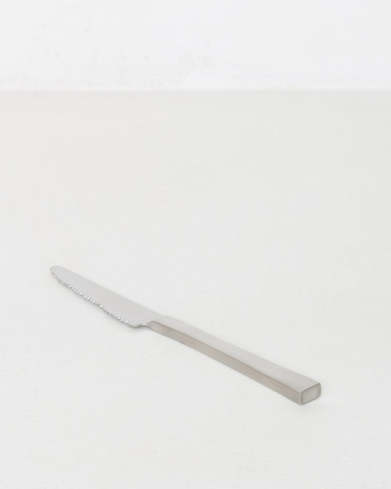 Brushed Stainless Table Knife