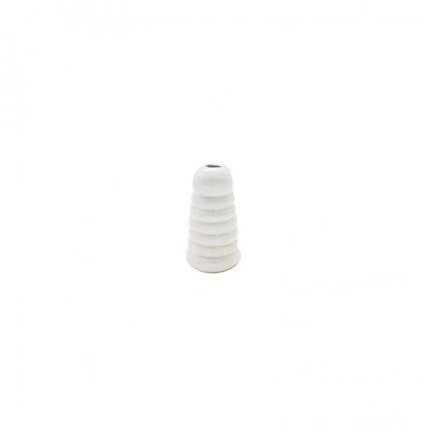 Private: White All Coiled Up Vase