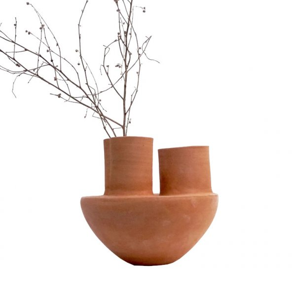 Private: Balancing Vase Terracotta Small
