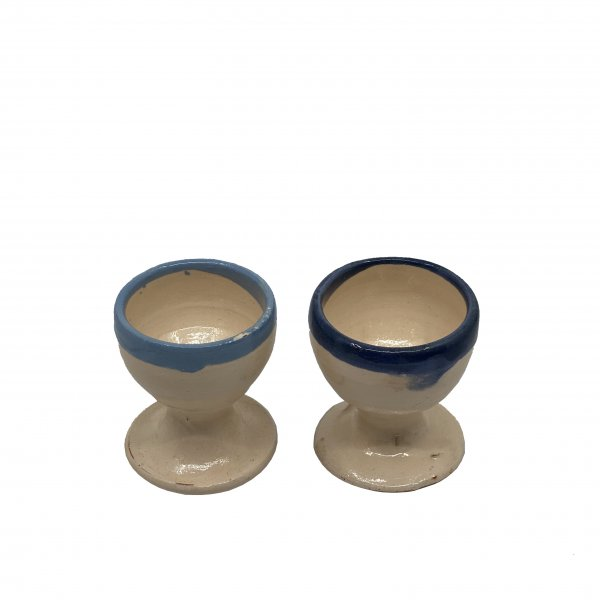 Mallorca Colored Rim Egg Cups