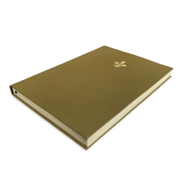 Thyme Leather Notebook A4