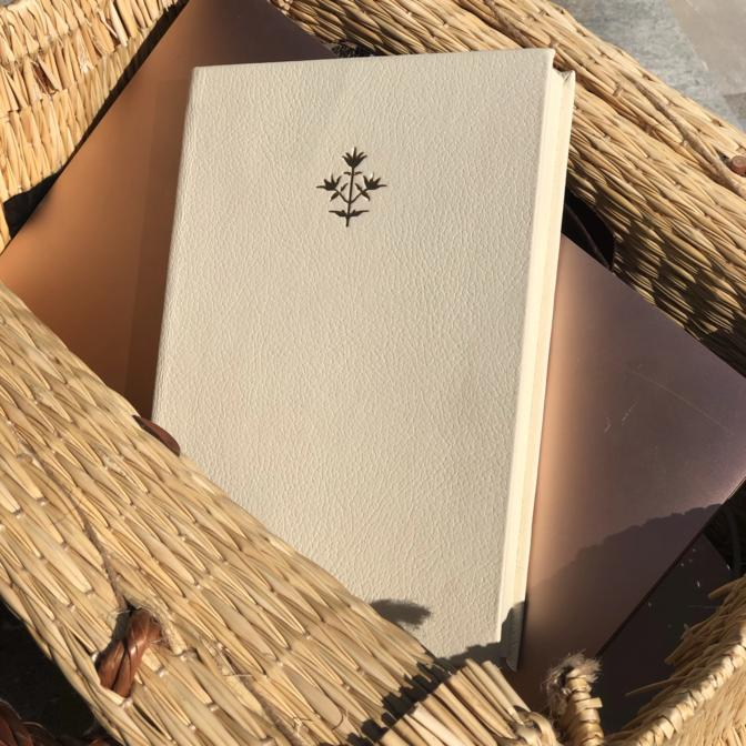 Thyme Leather Notebook A5