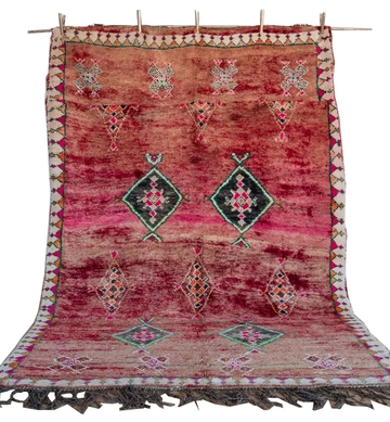 Multicolored Boujad Rug – Celiane