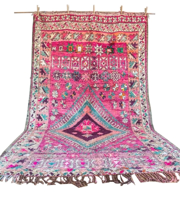 Multicolored Boujad Rug – Najat