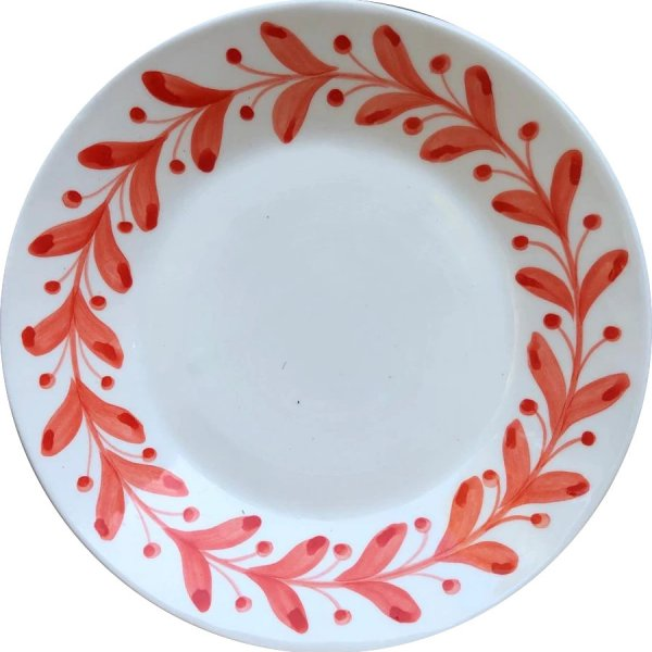 Anna Coral Dinner Plate