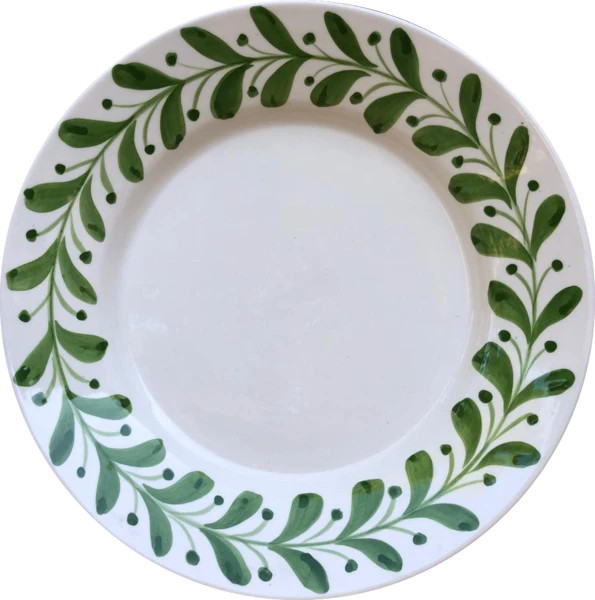 Anna Olive Dinner Plate