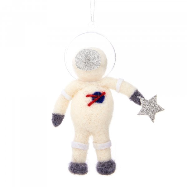 Astronaut Hanging Felt Decoration