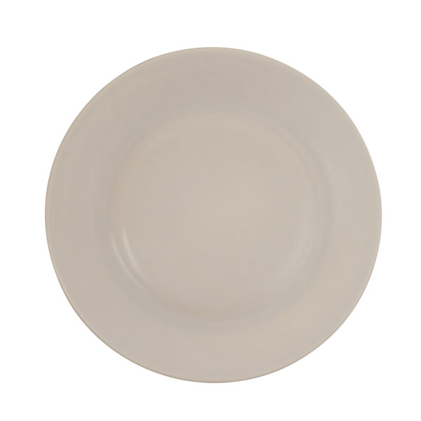 Matt Grey Ceramic Dinner Plate