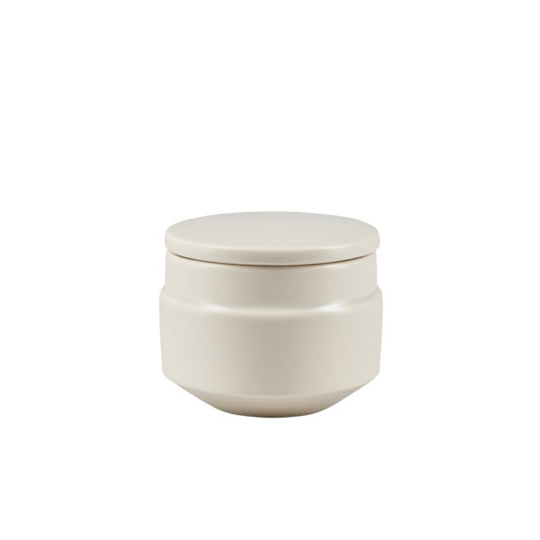 Matt Grey Ceramic Sugar Pot