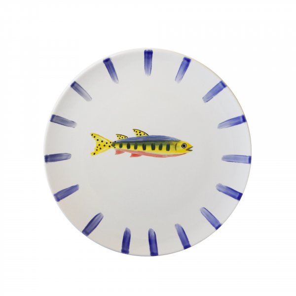 Handpainted Fish Plate 3